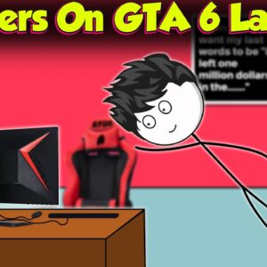 Gamers On The Day Of GTA 6 Launch Day/Event