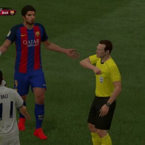 Match 1 - FC Barcelona VS Real Madrid - El Clasico [PS4 GamePlay]
